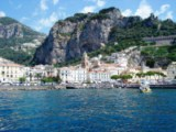 Amalfi Coast - Amalfi, the coast's main town, sea, flors, enchantment, history