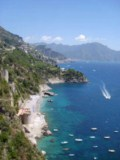 Southern Italy - Amalfi Coast - Conca Dei Marini, set on the Amalfi Coast just on the Mediterranean